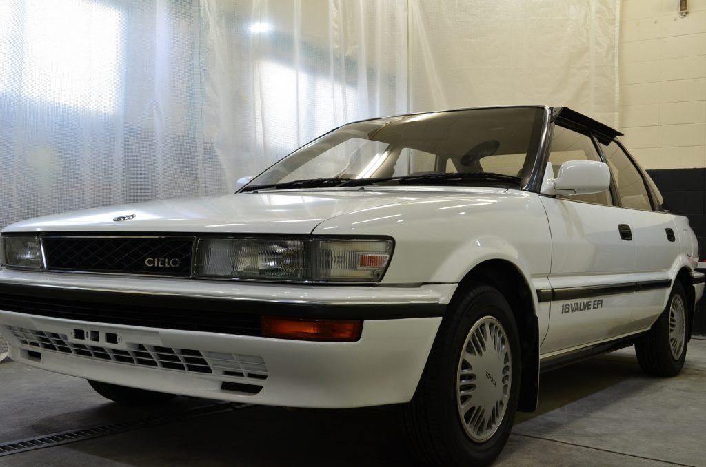 アルファカーズ トヨタ シエラ コーティング クラシックカー 高速有船